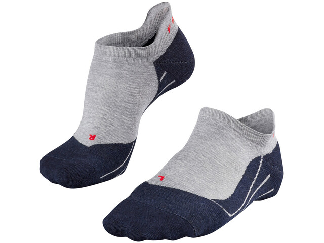 Falke RU4 Chaussettes de running invisibles Homme, light grey